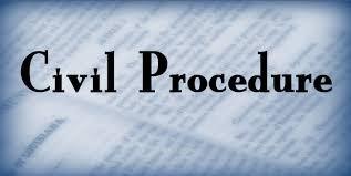 The Civil Procedure
