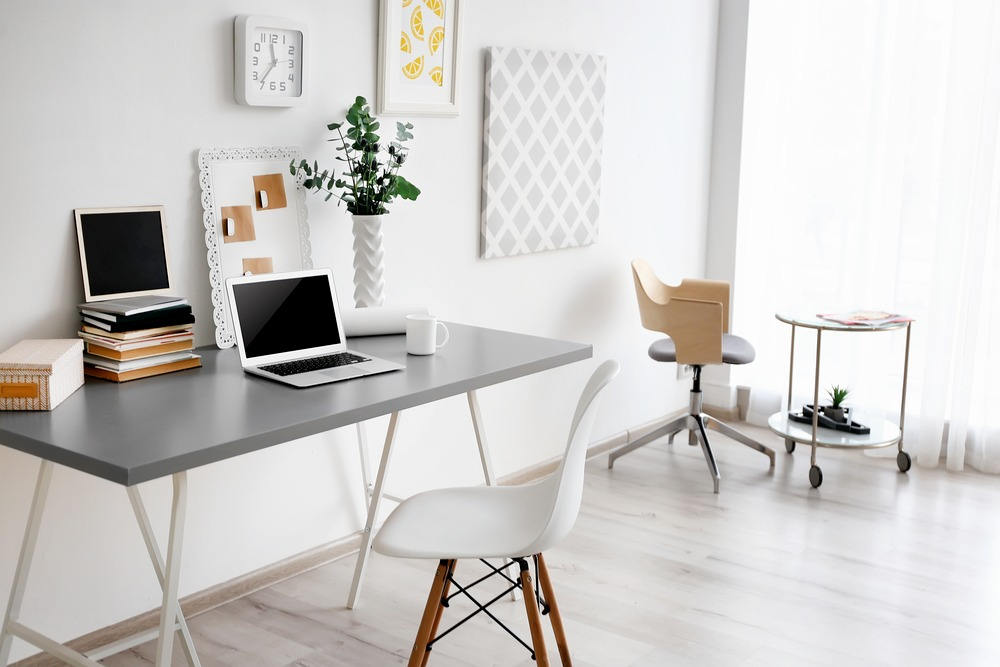 Simple ways to create a more organised home office