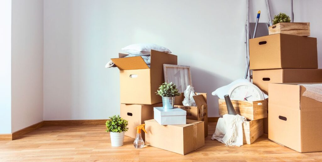 Preparing for a house move