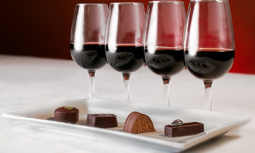 Wine and chocolate pairings for the perfect treat night